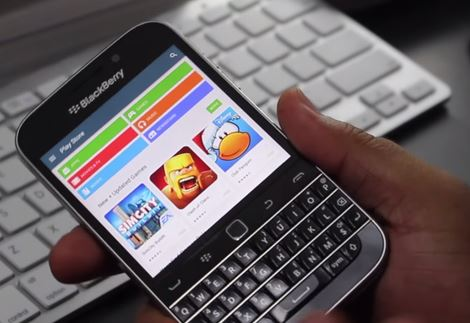 Play Store para Blackberry